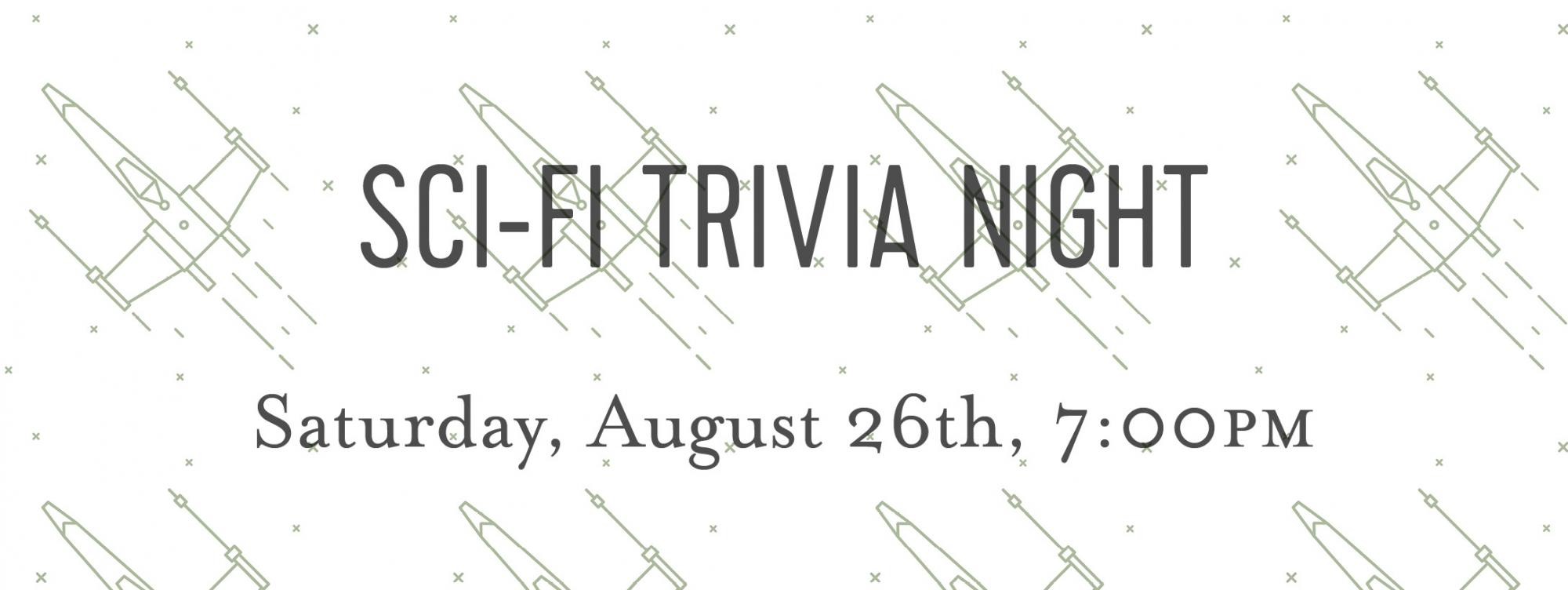Adas featured events adas technical books friends of adas alex veronica will host a very exciting science fiction trivia night questions are sourced from books read in the classics of science fandeluxe Gallery