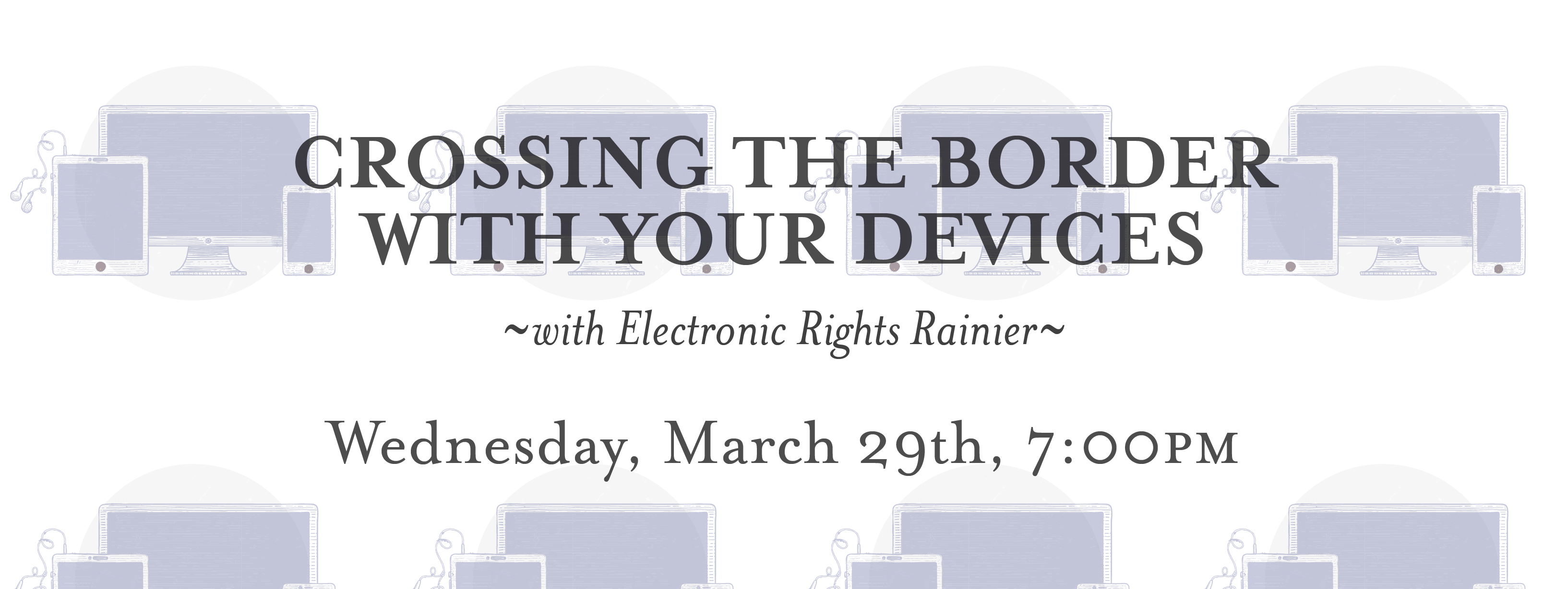 Adas featured events adas technical books join electronic rights rainier for a roundtable discussion of privacy and security while crossing the border with your devices well talk about technical fandeluxe Gallery