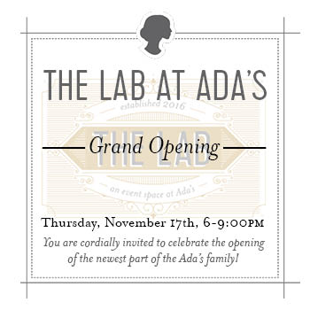 Adas featured events adas technical books you are cordially invited to celebrate the opening of the newest part of the adas family the lab fandeluxe Choice Image